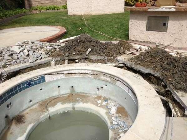 Under Deck Leak Detection And Repair Bond Beam Crack