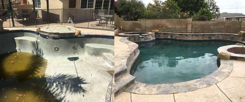 Swimming Pool And Spa Remodel Crack Repair Bond Beam